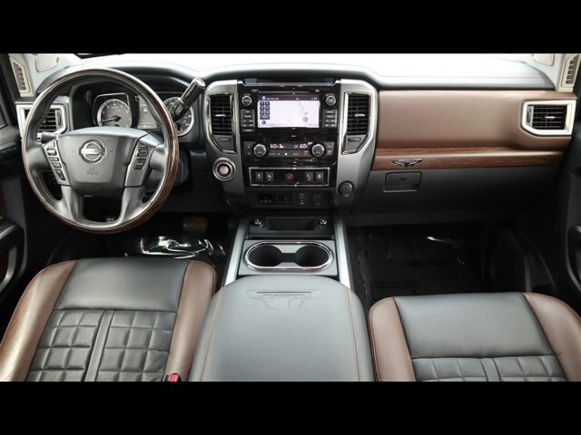 Pre-Owned 2017 Nissan Titan XD Platinum Reserve Gas
