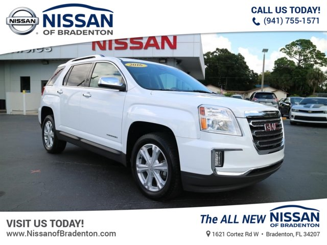 Pre Owned 2016 Gmc Terrain Slt Suv In Bradenton 8138824t Nissan