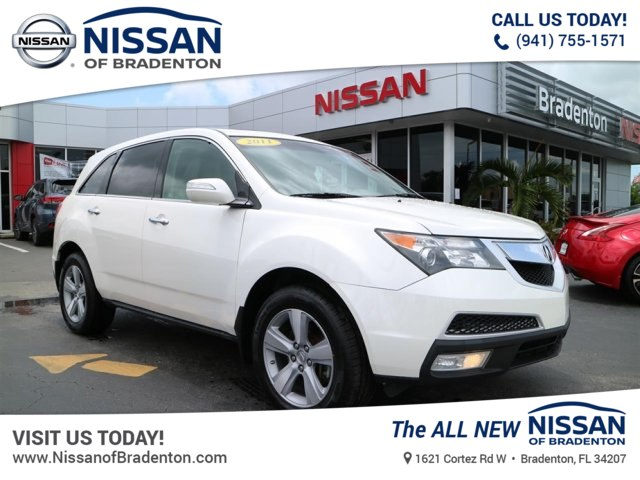 PreOwned Acura MDX L SUV In Bradenton T Nissan Of - Acura mdx pre owned