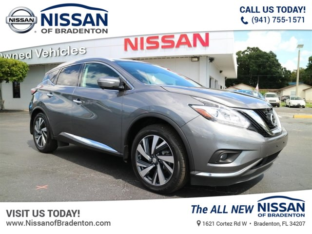 Certified Pre-Owned 2015 Nissan Murano Platinum SUV in Bradenton ...