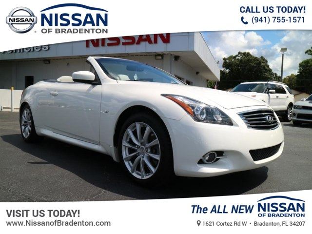 Pre Owned 2015 Infiniti Q60 Convertible In Bradenton 8810893t