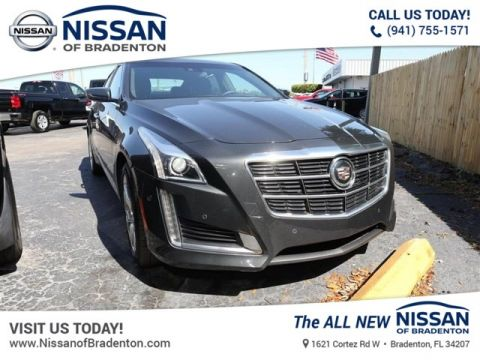 Pre-Owned 2014 Cadillac CTS 3.6L Premium AWD