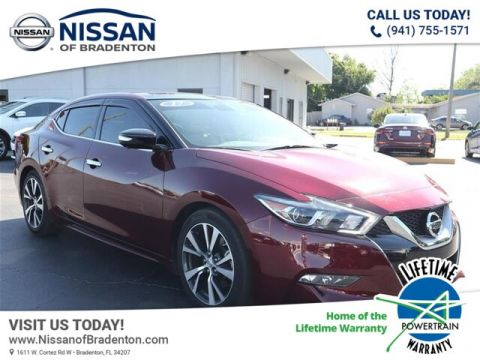 Certified Pre-Owned 2017 Nissan Maxima 3.5 Platinum With Navigation