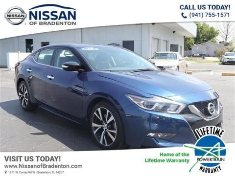 Pre-Owned 2018 Nissan Maxima 3.5 SV With Navigation