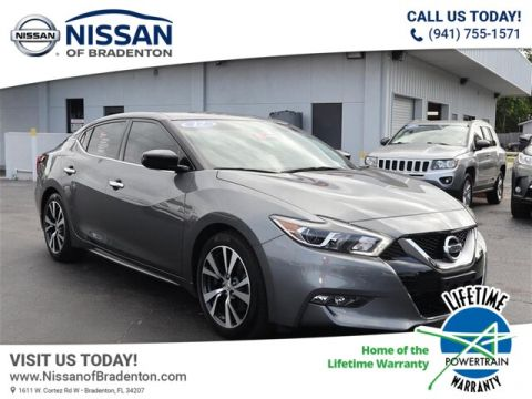 Certified Pre-Owned 2017 Nissan Maxima 3.5 S With Navigation