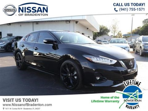 Certified Pre-Owned 2019 Nissan Maxima 3.5 SR With Navigation