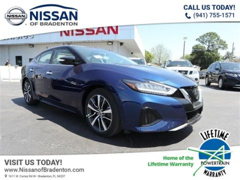 New 2019 Nissan Maxima 3.5 SL FWD Sedan
