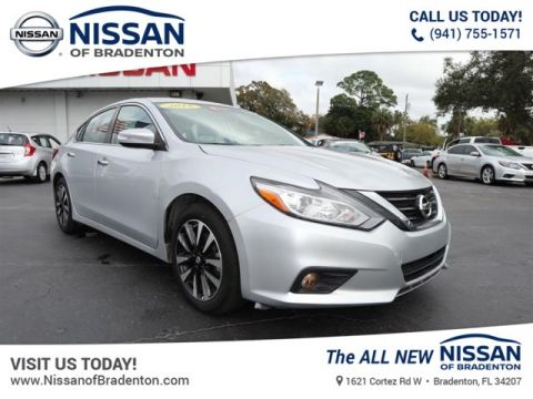 Certified Pre-Owned 2018 Nissan Altima 2.5 SL FWD Sedan