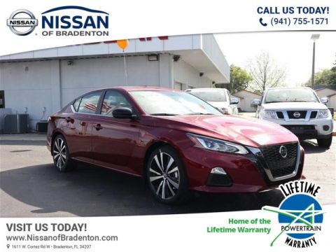 New 2019 Nissan Altima 2.5 SR FWD Sedan