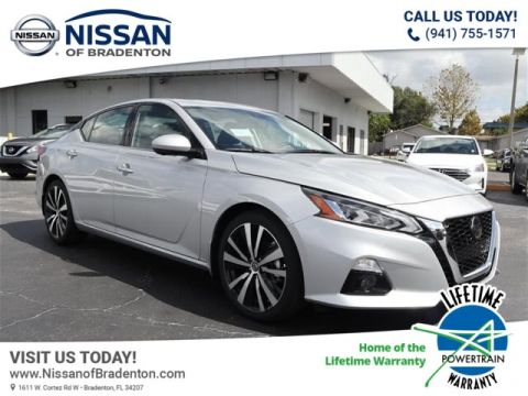 New 2020 Nissan Altima 2.5 Platinum With Navigation