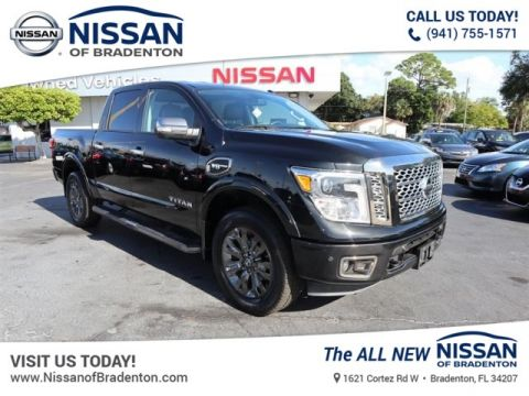 Certified Pre-Owned 2017 Nissan Titan 4WD