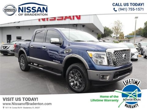 Certified Pre-Owned 2017 Nissan Titan Platinum Reserve With Navigation