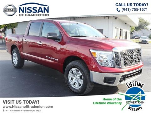 Certified Pre-Owned 2018 Nissan Titan SV 4WD