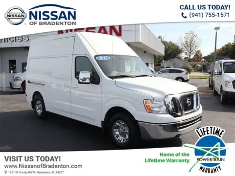 Pre-Owned 2017 Nissan NV Cargo NV2500 HD SL V8