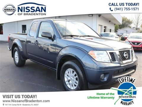 Certified Pre-Owned 2017 Nissan Frontier SV-I4