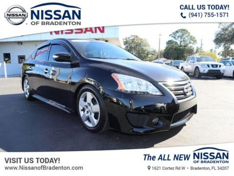 Certified Pre-Owned 2015 Nissan Sentra SR FWD Sedan