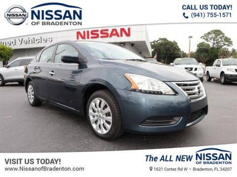 Certified Pre-Owned 2013 Nissan Sentra SV