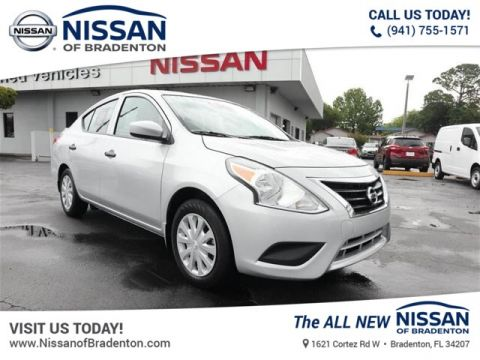Certified Pre-Owned 2018 Nissan Versa 1.6 S+
