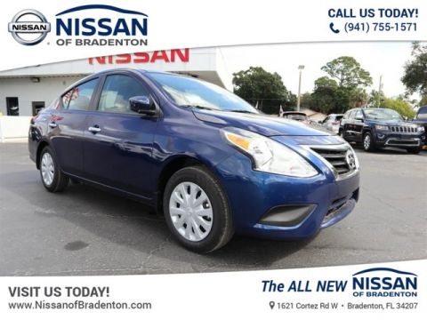 New 2019 Nissan Versa 1.6 SV FWD Sedan
