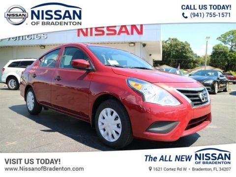 New 2019 Nissan Versa 1.6 S+ FWD Sedan