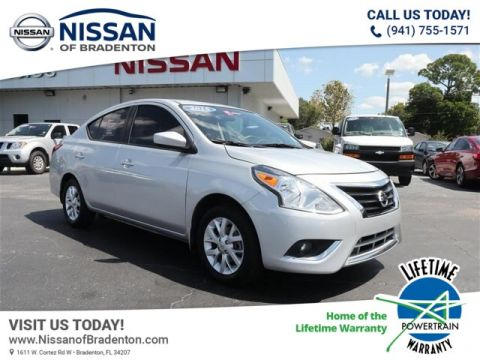 Certified Pre-Owned 2016 Nissan Versa 1.6 SV