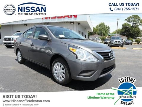 New 2019 Nissan Versa 1.6 S FWD Sedan