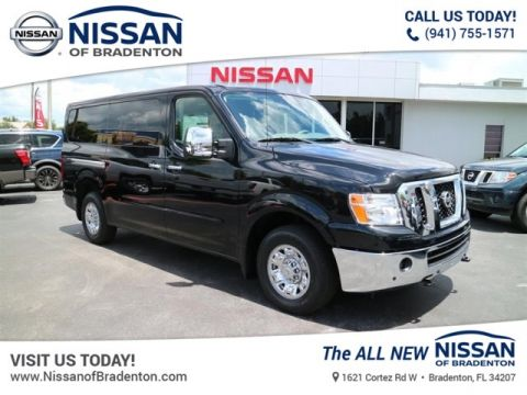 New 2018 Nissan NV Passenger NV3500 HD SL V8