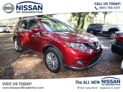 Certified Pre-Owned 2015 Nissan Rogue SL FWD SUV