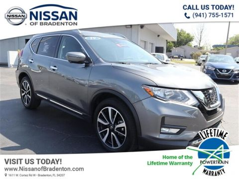 Certified Pre-Owned 2019 Nissan Rogue SL With Navigation
