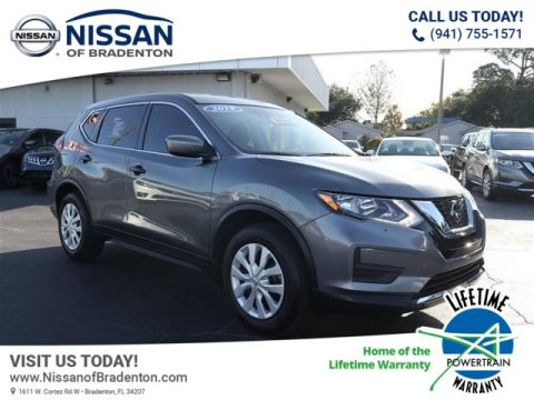 Certified Pre-Owned 2019 Nissan Rogue S FWD SUV