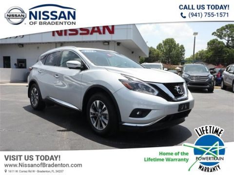 Certified Pre-Owned 2018 Nissan Murano SL AWD