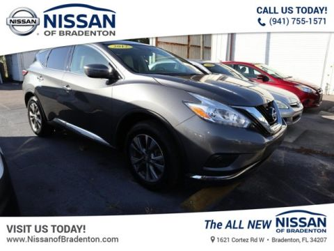 Certified Pre-Owned 2017 Nissan Murano S AWD