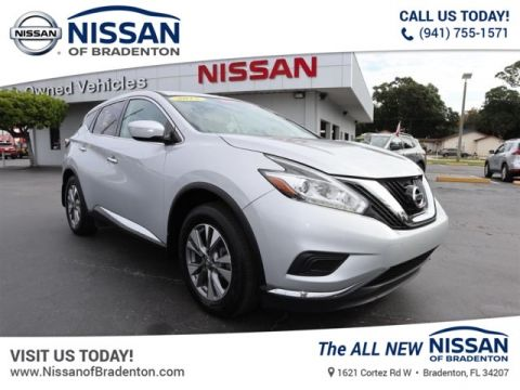 Certified Pre-Owned 2015 Nissan Murano S AWD