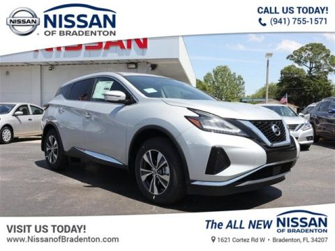 New 2019 Nissan Murano S With Navigation