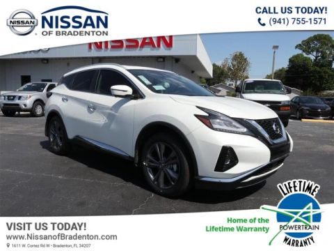 New 2019 Nissan Murano Platinum With Navigation