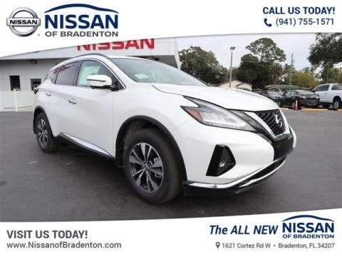 New 2019 Nissan Murano SV With Navigation