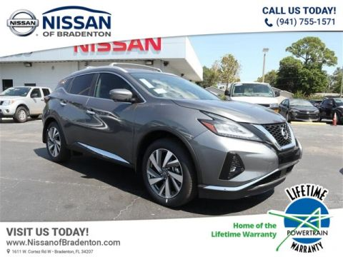 New 2019 Nissan Murano SL With Navigation