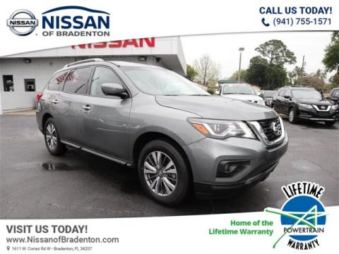 Pre-Owned 2018 Nissan Pathfinder SL With Navigation