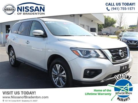Certified Pre-Owned 2019 Nissan Pathfinder SL With Navigation