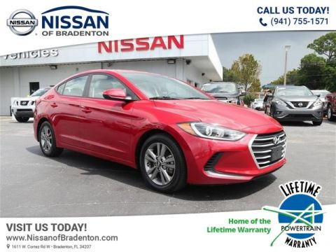 Pre-Owned 2018 Hyundai Elantra SEL FWD Sedan