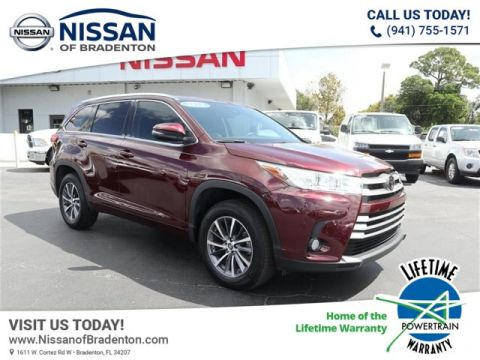 Pre-Owned 2018 Toyota Highlander XLE V6 With Navigation
