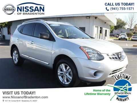 Certified Pre-Owned 2015 Nissan Rogue Select S FWD SUV