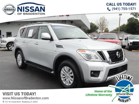 Pre-Owned 2018 Nissan Armada SV With Navigation & AWD