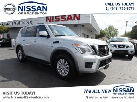 Certified Pre-Owned 2017 Nissan Armada SV AWD