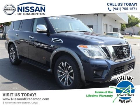Certified Pre-Owned 2018 Nissan Armada SL With Navigation & AWD