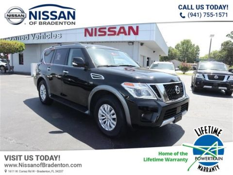 Certified Pre-Owned 2018 Nissan Armada SV AWD