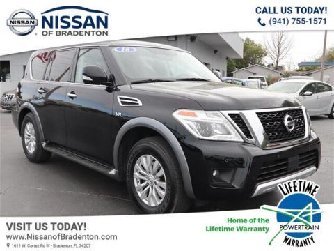 Certified Pre-Owned 2018 Nissan Armada SV With Navigation
