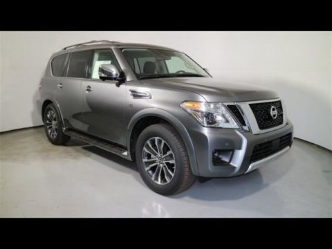 New 2018 Nissan Armada SL With Navigation