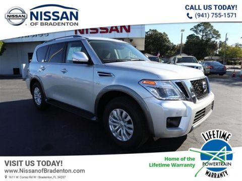 New 2019 Nissan Armada SV With Navigation
