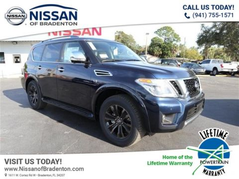 New 2019 Nissan Armada Platinum With Navigation